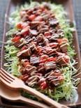 煮豚とキャベツのおかずサラダ