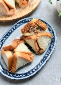 『食パンで簡単ホカホカ肉まん』
