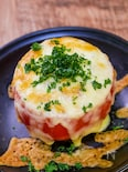【サク飯】丸ごとトマトのエッグチーズ焼き