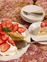 クラシックショートケーキ