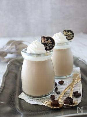 簡単!フルフルとろける♪コーヒー牛乳プリン