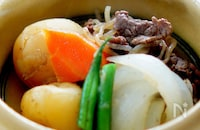 ストウブ鍋で作る煮込み野菜は無水で美味しい♫