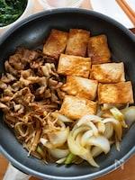 『フライパンすき煮』甘辛味しみ♡忙しい日のお手軽メニュー♪