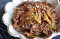 【定番】牛肉とねぎの甘辛煮【作り置き】