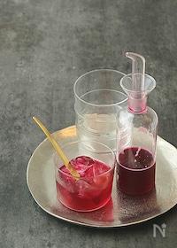 『『糖質オフ』赤しそジュース(ラカント仕上げ)』