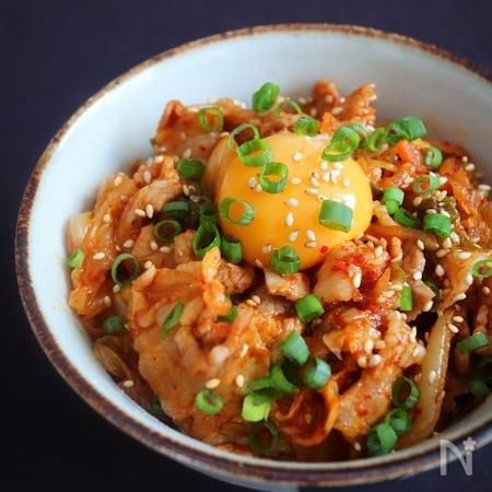 キム 豚 豚キムチのレシピ/作り方:白ごはん.com
