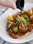 焼くだけ10分♪お酒もご飯もすすむ!タイの屋台風焼き豚(鶏)