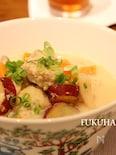 鶏団子の味噌ミルクスープ