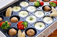 時短食材で!『冷凍ミートボールのお楽しみチーズフォンデュ』