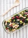 【包丁いらずの常備菜】豆とわかめの和風マリネ