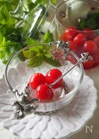 『作り置き♡お弁当にも♡付け合わせにも【トマトのマリネ】』