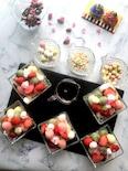 ひな祭りに♪和洋テイストの菱餅カラー白玉団子