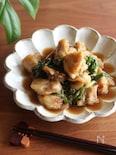 レタスの外葉は捨てないで!鶏肉とレタスの黒酢炒め