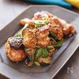 鶏肉と野菜の甘味噌炒め