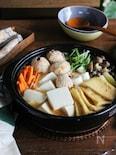 魚貝つみれと豆腐の石狩鍋