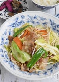 『中華風肉野菜とろみ炒め』