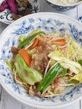 中華風肉野菜とろみ炒め