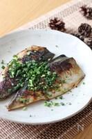 たまには違う食べ方で♡塩鯖のさっぱりマヨポン焼き