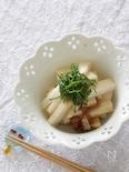 長芋の梅ポン酢漬け