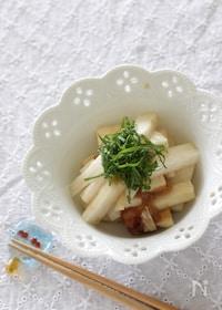 『長芋の梅ポン酢漬け』
