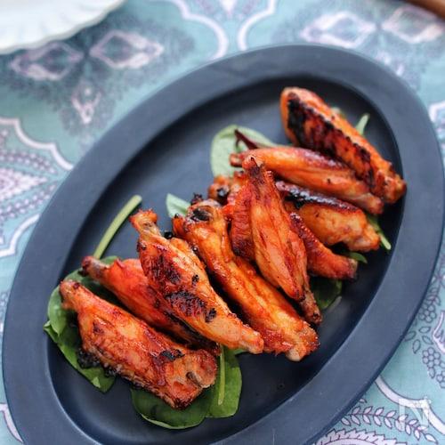 鶏スペアリブのBBQグリル