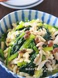 簡単!栄養満点*小松菜とツナと高野豆腐の煮物