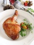 骨付き鶏もも肉で♪定番クリスマスチキン