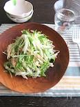 火を使わず♪さっぱり◎大根と水菜のツナサラダ