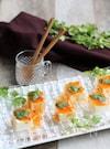 冷製ピリ辛ラー油あんかけ豆腐