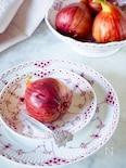 無花果のコンポート*季節の果物美味しさ長持ち#作り置き