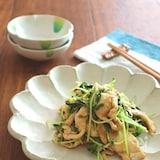 ヘルシー☆鶏むね肉と豆苗の生姜ポン酢炒め
