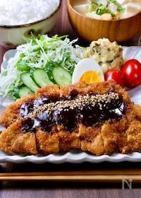 『ご飯が進む!ガッツリ美味しい♡『味噌だれ豚カツ』』