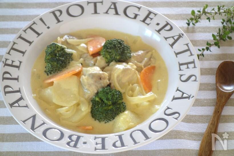 お野菜たっぷりのスープ