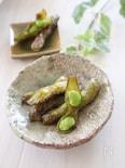 枝豆を楽しむ♪豆腐バーグランチ④枝豆のバター醤油焼き