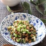 スプーンでモリモリ食べられる♡納豆の和えるだけ激旨おつまみ