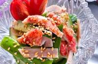 超簡単‼︎ 3分副菜胡瓜とカニカマのさっぱりごまポン和え