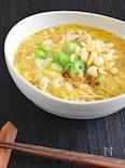 【軽めの主食】玉子とじ煮麺(にゅうめん)