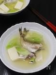 夏こそ食べたい しょっつる鍋。