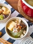野菜がたっぷり♪鶏ちゃんこ風スープ