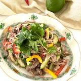 お野菜たっぷり牛肉のエスニックサラダ