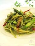 パストラミのグリーンスパゲッティ