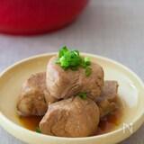 めんつゆで豚の角煮