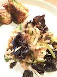 キュウリと切り干しの中華風サラダ