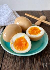 『調味料1つ!!コクうまとろ〜り♡オイスター味玉』
