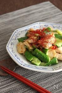 きゅうりと鶏肉のスタミナ炒め♪【#食材2品】