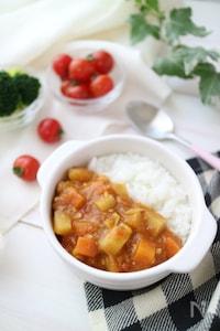 お鍋1つでとっても簡単☆コロコロ野菜のお子さまチキンカレー