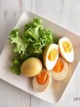 めんつゆで簡単♪絶品!カレー煮卵