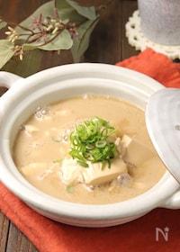 『すぐでき癒され味♪豆乳湯豆腐』
