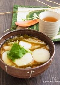 『祖母の味* 里芋と昆布の雑炊』
