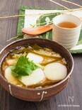祖母の味* 里芋と昆布の雑炊